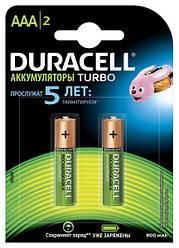 Аккумулятор Duracell HR03 (AAA) 900mAh уп.