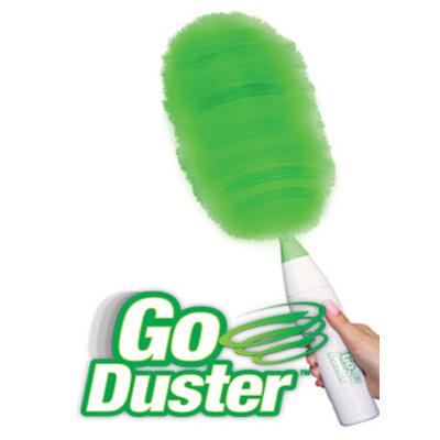 Вращающаяся электрическая щетка веник для уборки Go Duster (Реплика)