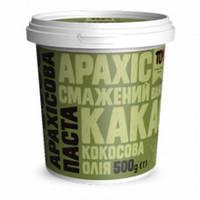 Арахисовая паста ТОМ с какао и кокосовым маслом 500 грамм