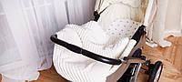 Одеяло, подушка и простынка для коляски