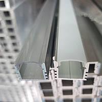 Светодиодный профиль ЛП12 с Рассеивателем поликарбонат, фото 1