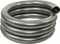 Металлорукав (металорукав, гофра металлическая, рукав металлический) без протяжки, рз-ц