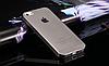 Силиконовый прозр-черный чехол для Iphone 5/5S