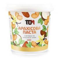 Арахісова паста ТОМУ з фініками і кокосовим маслом 1000 грам