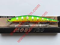 Воблер Miso-Bait Moby 120F (col. ZR-10) 13 г Точная копия DUO Moab