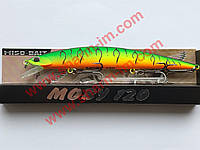 Воблер Miso-Bait Moby 120F (col. 070R) 13 г Точная копия DUO Moab