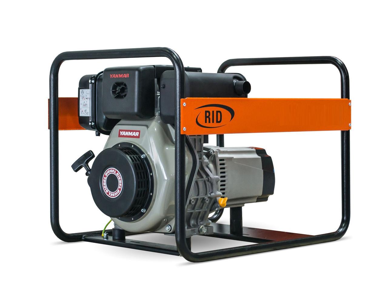 Дизельный генератор RID RY 6000 DE (5.5 кВт)
