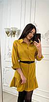 Платье с рюшами свободное, размеры от 44 до 50, фото 2