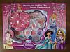 Детская декоративная косметика Принцессы, 3 яруса, тени, помады, блеск для губ