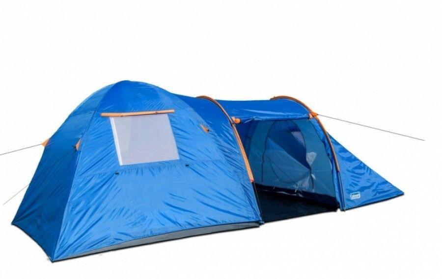 Туристическая палатка двухслойная шестиместная Coleman 1901