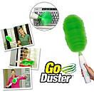 Вращающаяся электрическая щетка веник для уборки Go Duster (Реплика), фото 6
