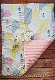 Утепленный  конверт - плед  с плюшем осень-зима-весна, фото 9