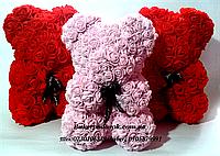 Мишка «Teddy Bear» (Мишка Тедди) из фоамирановых 3D роз