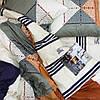 Постельное белье Вилюта сатин твил 300 двуспальное, фото 3