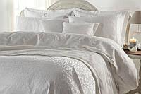 """Шикарный кружевной комплект белого цвета постельного +покрывало """"Gellin Home"""""""