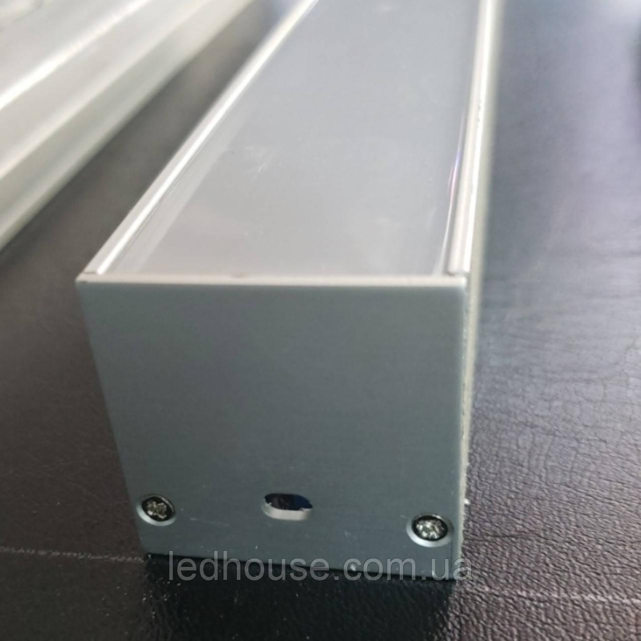 LED профиль SL36 для светодиодной ленты с рассеивателем
