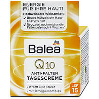 Balea Q10 Anti-Falten Tagescreme LSF15 Дневной крем против морщин с Q10 + Омега 35+  50 мл