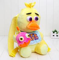 """Рюкзак мягкая игрушка Фокси ФНАФ FNAF """"5 Ночей с Фредди"""" 33 см"""