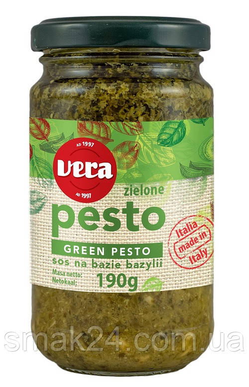 Соус Green Pesto Vera 190 г Польща