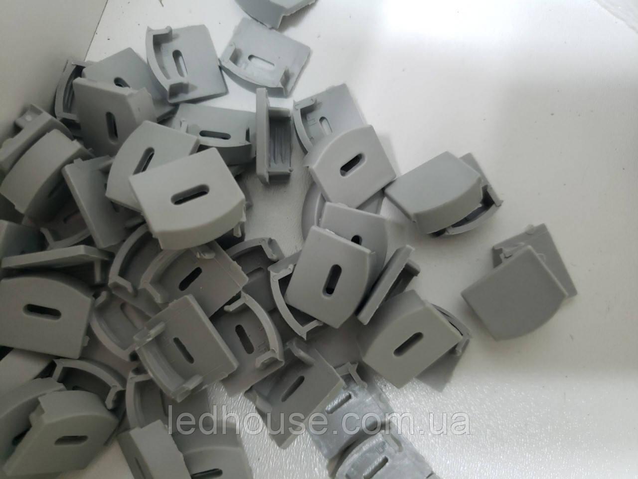 Заглушки для алюминиевого профиля ЛП12, ЛПС12