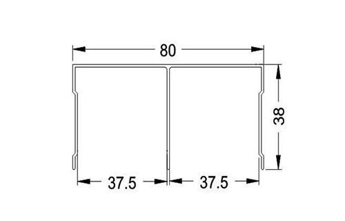Раздвижная система для дверей купе