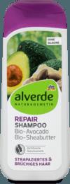 Alverde Shampoo Repair Восстанавливающий шампунь для поврежденных волос 200 мл