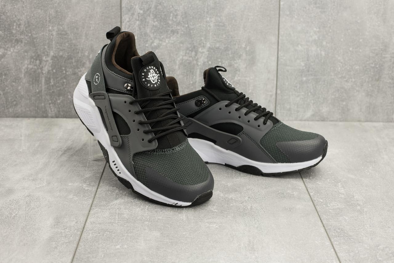 Кроссовки G 5100-3 (Nike Huarache) (весна/осень, мужские, текстиль, серый)