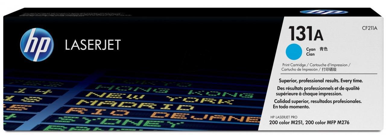 Заправка картриджа HP CF211А (131A) синий
