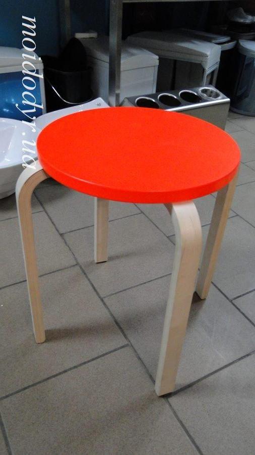 IKEA FROSTA табурет красный оранжевый 902.957.43