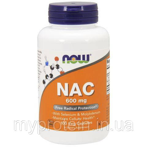 NOWN-ацетил-цистеинNAC 600 mg100 veg caps