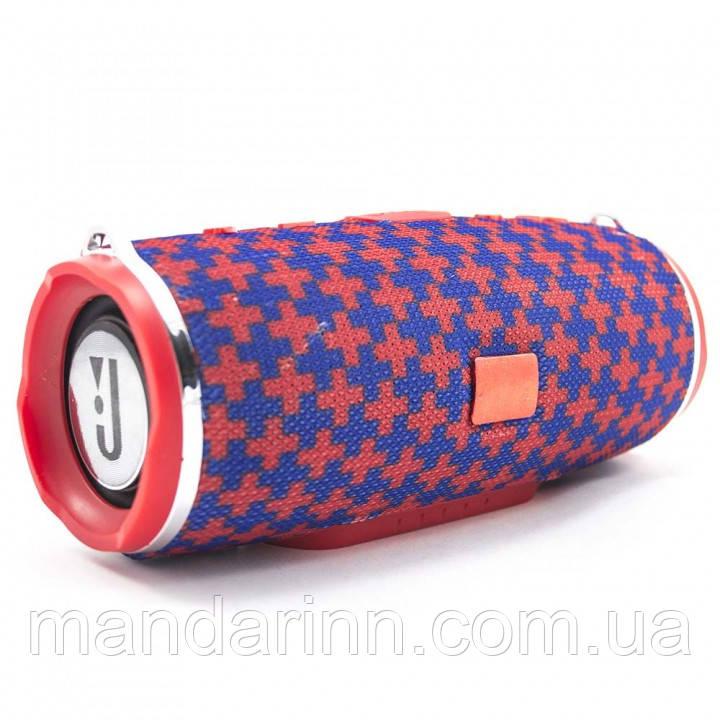 Колонка JBL Charge 3 Mini (Красно-синяя) с ремешком
