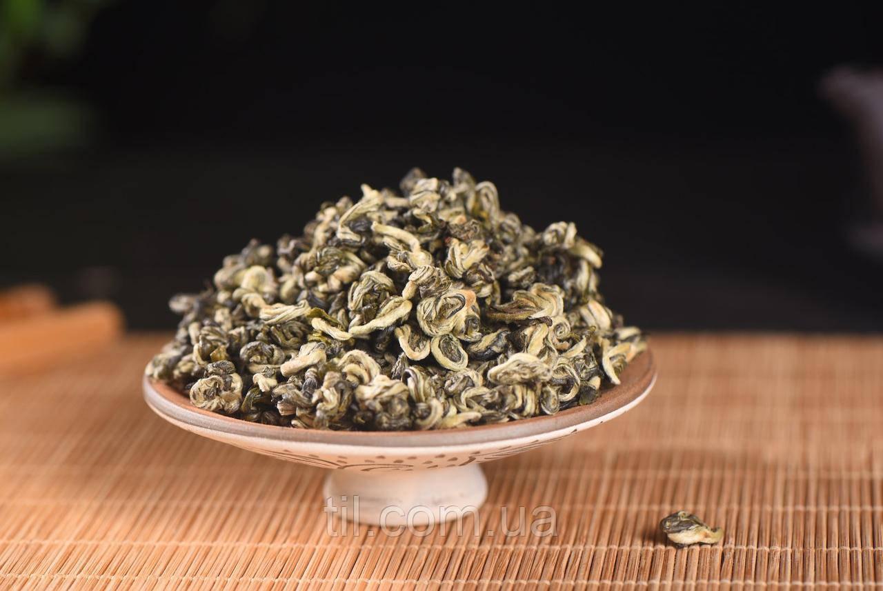Китайский чай Би Ло Чунь (Bi Lou Chun) Изумрудные спирали Сбор 2020