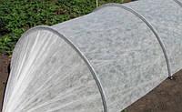 Прочный  надёжный  парник 4 м из агроволокна AGREEN «СУФ-30»