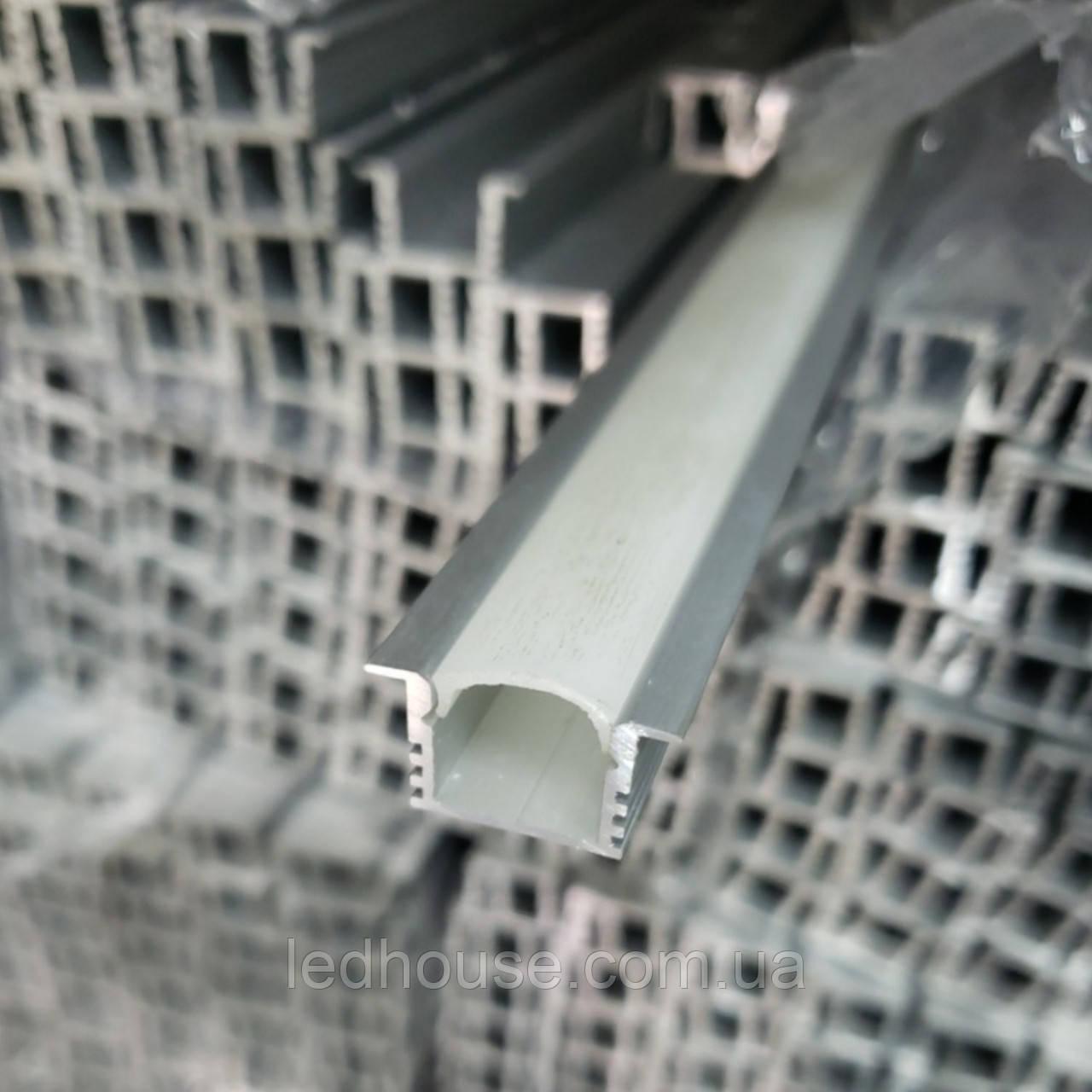 Светодиодный профиль ЛПВ12 с Рассеивателем пластик
