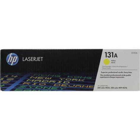 Заправка картриджа HP CF212А (131A) желтый, фото 2