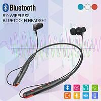 Беспроводные Наушники Bluetooth Поддерживает TF-карты Sport Headset Wireless Вакуумные Наушники с Микрофоном