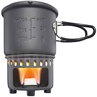 Набор для приготовления пищи Esbit CS585HA 017.0003, на 0,6 л, серый