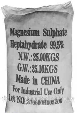 Минеральное удобрение СУЛЬФАТ МАГНИЯ Китай 25 кг