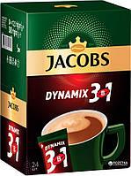 Кофейный напиток Jacobs 3в1 dynamix 24 х 12 г