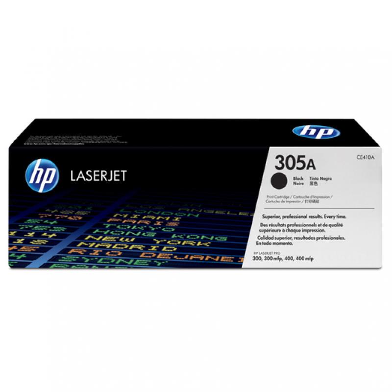 Заправка картриджа HP CE410A (305A) черный