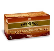 Чай черный Ceylon Orange Pekoe Twinings – 25п.х2г, фото 2