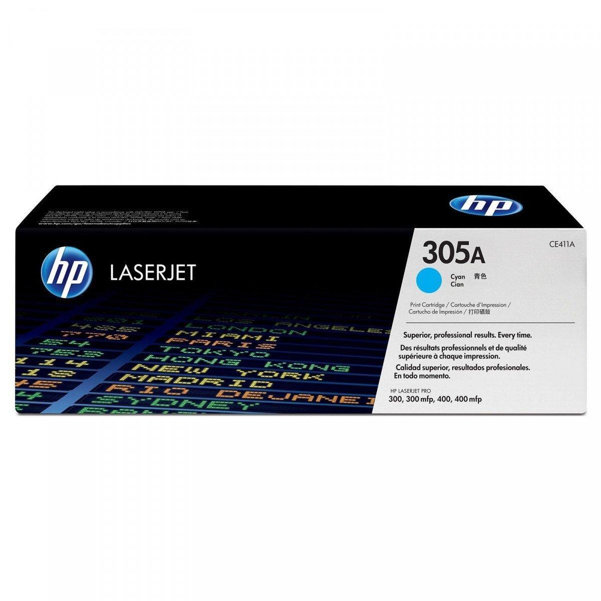 Заправка картриджа HP CE411A (305A) синий