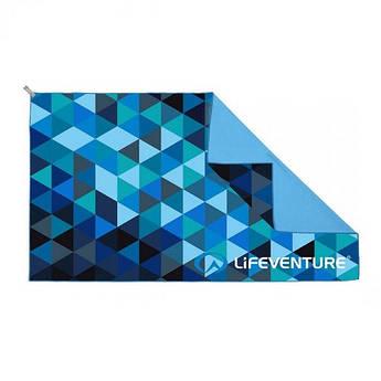 Рушник Lifeventure Soft Fibre Printed Triangle Giant