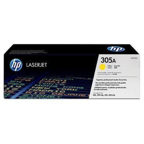 Заправка картриджа HP CE412A (305A) желтый