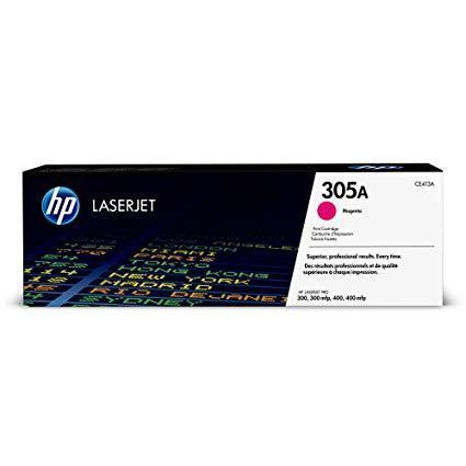 Заправка картриджа HP CE413A (305A) красный