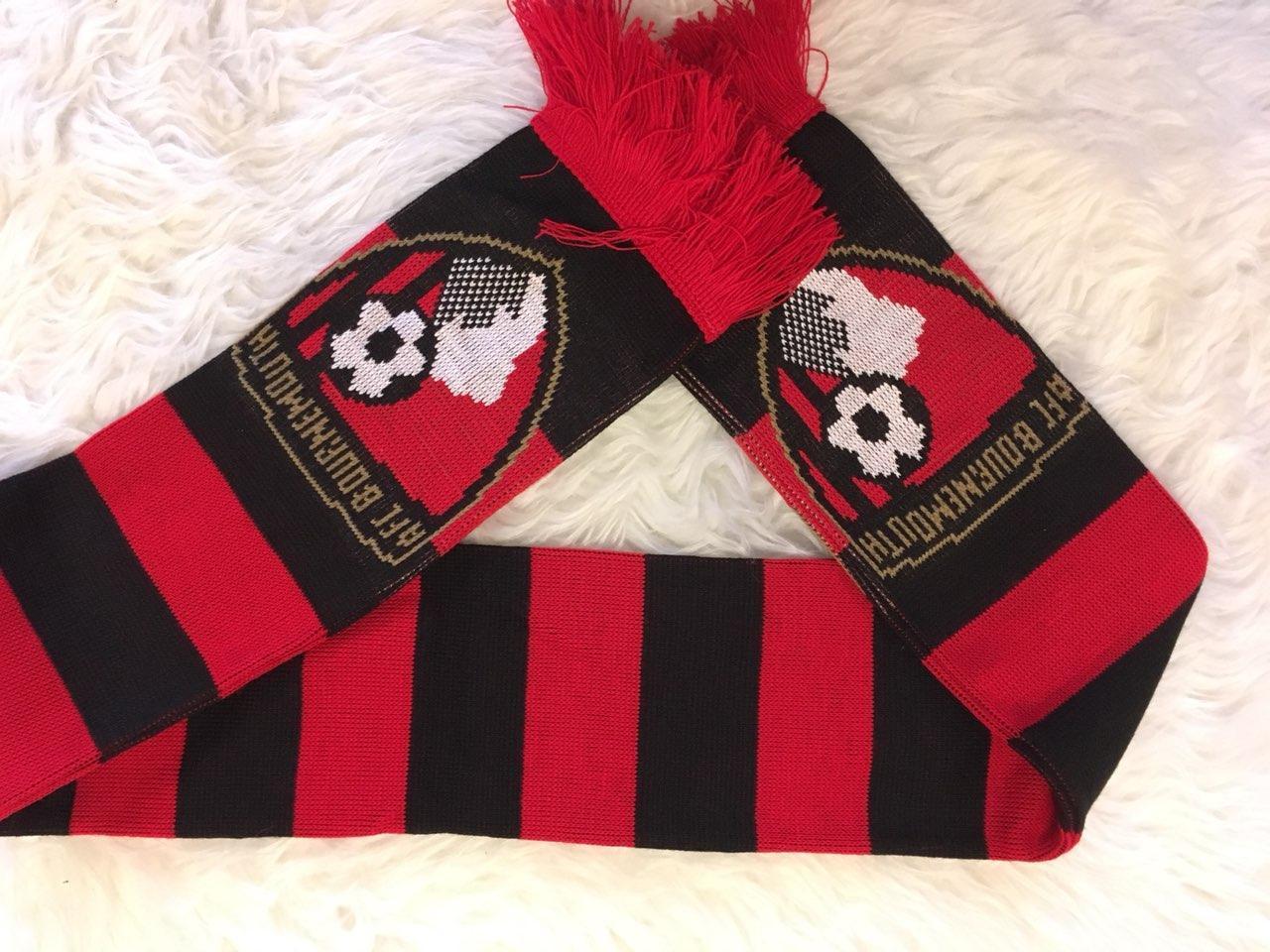 Футбольный шарф Борнмут A.F.C. Bournemouth