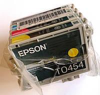 Комплект оригинальных картриджей Epson T0441 - T0454