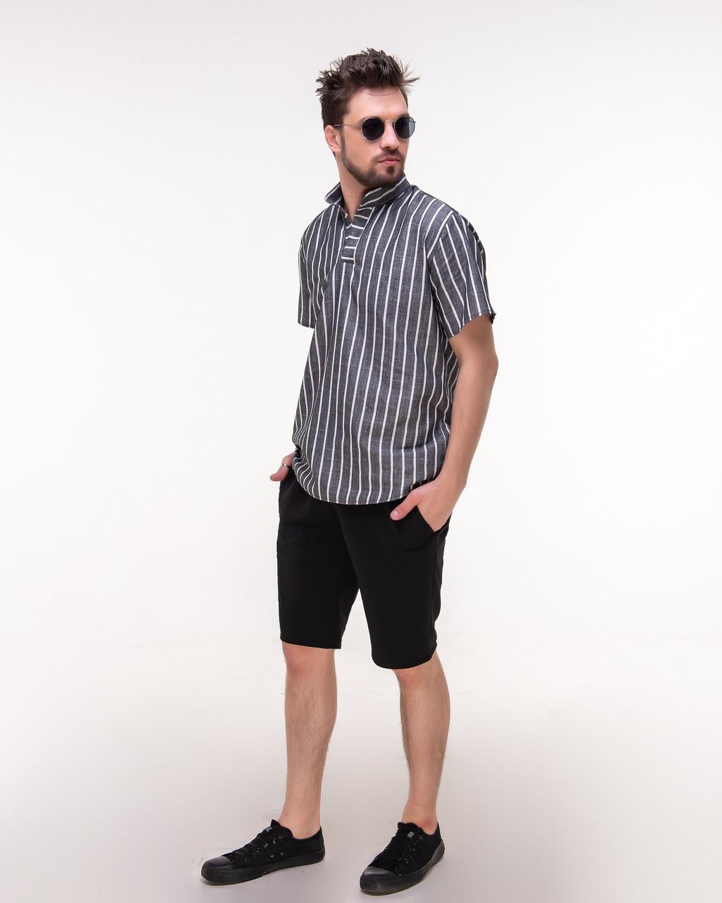 Костюм мужской шорты и рубашка