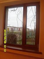 Окна ПВХ в ламинате, производство Феодосии