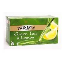 Чай зеленый Twinings Лимон, 25п.х2г, фото 2